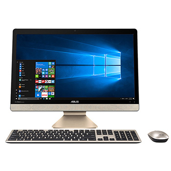 联想(Lenovo) IdeaCentre C560 23英寸一体机电脑(i3-4160T 4G 1T 2G独显 Rambo刻录 Wifi Win10)黑色 i7-7500u 8G 128 1T