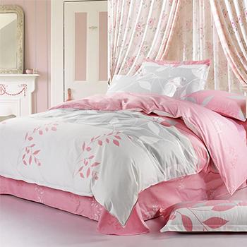 大朴(DAPU)毯子家纺 精梳埃及长绒棉A类毛巾被 双人毛圈盖毯 暖气毯 粉色
