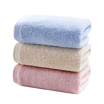 大朴(DAPU)精梳埃及长绒棉毛巾6条装 白色